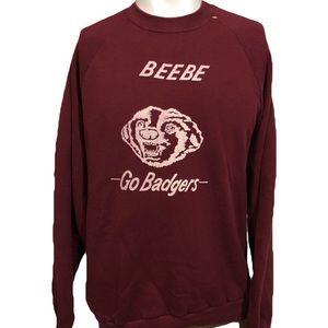 Vintage Beebe Badgers Arkansas Crewneck